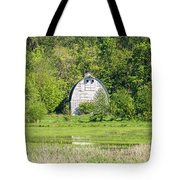 Twin Barns In Spring Tote Bag