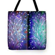 Twin Beauty-2 Tote Bag by Karunita Kapoor