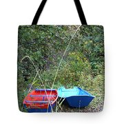 Twin Boats Bella Coola Bc Tote Bag