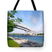 Twin Bridges Tote Bag