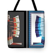 Twin Buttefly Sisters One Angel Other Evil  Blue Moon Butterfly Womens Fashion Couture From Jaipur  Tote Bag