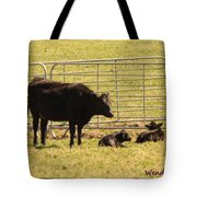 Twin Calves Tote Bag