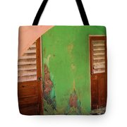 Twin Doors Tote Bag