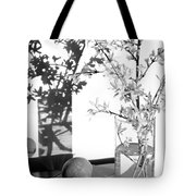 Twin Faces Tote Bag