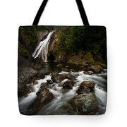 Twin Falls Landscape Tote Bag