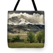 Twin Peaks Hang-in Color Tote Bag