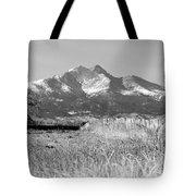 Twin Peaks Rustic Fence Tote Bag