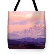 Twin Peaks Sunrise  Tote Bag