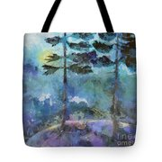Twin Pines Tote Bag