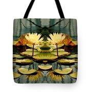 Twin Pond Lillies Tote Bag