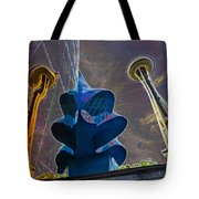 Twin Space Needles Tote Bag