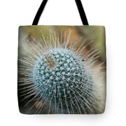 Twin Spined Cactus Tote Bag
