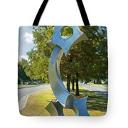 Twin Stars Tote Bag
