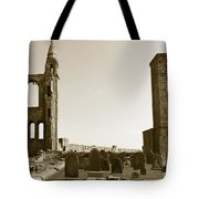 Twin Turrets And St. Rule's Tower Tote Bag