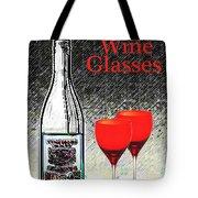 Twink Wine Glasses Tote Bag