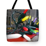 Twinkle Lights In New York City Tote Bag