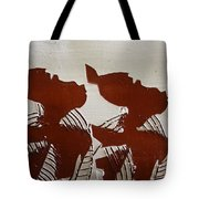 Twins - Tile Tote Bag