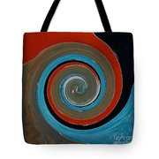 Twirl Red 01 Tote Bag