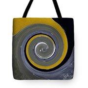 Twirl Yellow  Tote Bag