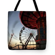 Twirling Away Tote Bag