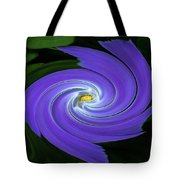 Twirling Flower Pedals Tote Bag