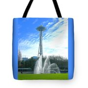 Twirling Water Tote Bag