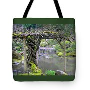 Twisted Arbor Tote Bag