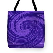 Twisted Blues Tote Bag