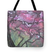 Twisted Cherry Tote Bag