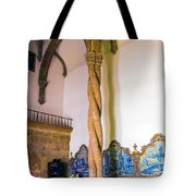 Twisted Columns Tote Bag