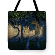 Twisted Early Morning Shadows Tote Bag