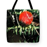 Twisted Evil Clown Portrait Tote Bag