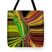 Twisted Glass Tote Bag