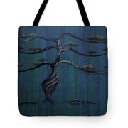 Twisted Oak Tote Bag