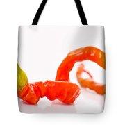Twisted Pepper Tote Bag