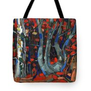 Twisted Tote Bag