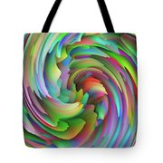 Twisted Rainbow 2 Tote Bag