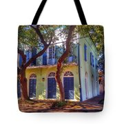 Twisted Tree In Farbourg Tote Bag