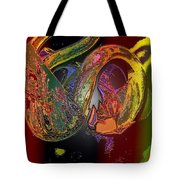Twisted Wrapped Tote Bag