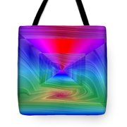 Twister In A Prism Tote Bag