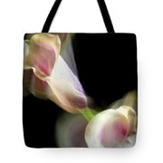 Twisting Cala Lily One Tote Bag