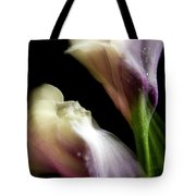 Twisting Cala Lily Two Tote Bag