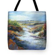 Twists And Turns Near Johnson City Tote Bag