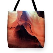 Twists And Turns, The Shape Of Time Tote Bag