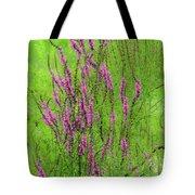 Twisty Flowers Tote Bag