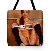 Twisty Girl Tote Bag