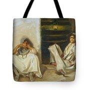 Two Arab Women Tote Bag