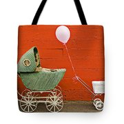 Two Baby Buggies  Tote Bag