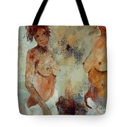 Two Black Sisters Tote Bag
