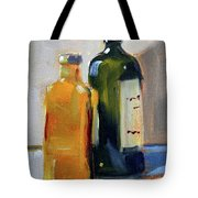 Two Bottles Tote Bag